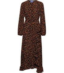 rosaliacras maxi dress knälång klänning brun cras