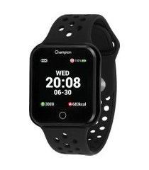 relógio digital champion smart masculino - ch50006p preto