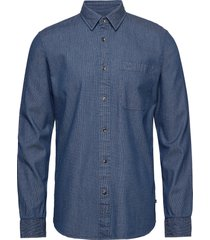 dew overhemd casual blauw matinique