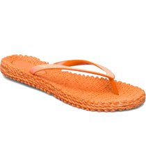 flipflop with glitter shoes summer shoes flip flops orange ilse jacobsen