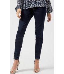 michael michael kors women's the denim ava skinny pants - twilight - us 8/uk 12 - black