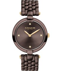 women's coach chrystie bracelet watch, 32mm