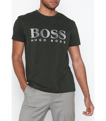 boss t-shirt rn t-shirts & linnen dark green