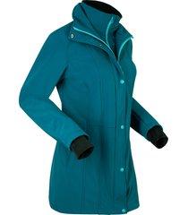 giacca corta in softshell 2 in 1 (petrolio) - bpc bonprix collection
