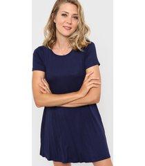 vestido azul chelsea market pao corto