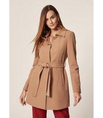 mob trench coat alfaiataria feminino
