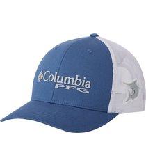gorra azul columbia mesh snap back