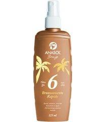 óleo bronzeador spray fps6 anasol 125ml
