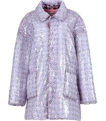 light pink sequin jacket