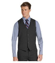 1905 collection tailored fit men's suit separate vest with brrr comfort - big & tall by jos. a. bank
