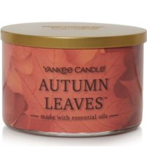 novelty autumn leaves 3-wick jar candle, 18 oz