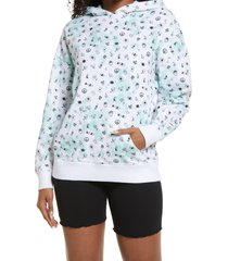 women's bp. hooded pullover, size small - green