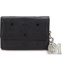 klara monogram-print leather wallet