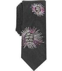 inc men's starburst slim tie, created for macy's
