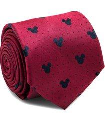 men's cufflinks, inc. mickey mouse silk tie