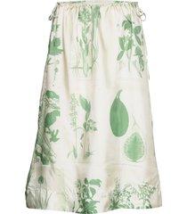 azolla x knälång kjol grön tiger of sweden
