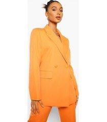 mix & match felle oversized blazer, orange