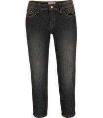 jeans capri elasticizzati comfort (nero) - john baner jeanswear