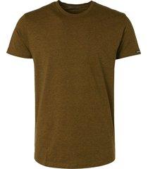 no excess t-shirt short sleeve crewneck mini gold