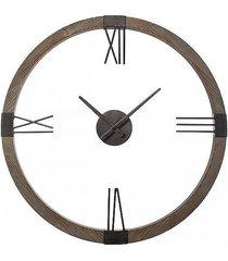 zegar drewniany ścienny warehouse