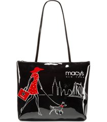 macy's walking dog small tote, created for macy's