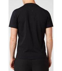 kenzo men's logo classic t-shirt - black - xxl