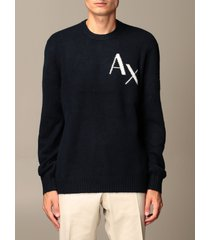 armani exchange sweater armani exchange wool blend pullover