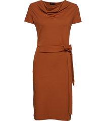 lily dress jurk knielengte oranje residus