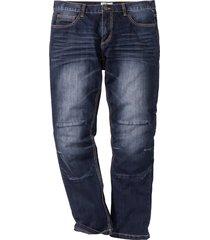 jeans, ledig passform, raka ben