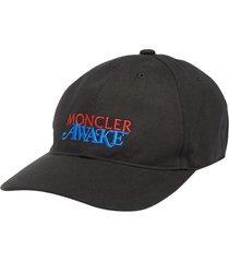 2 moncler 1952 awake logo cap