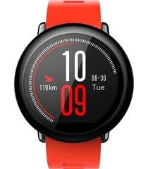 reloj xiaomi smartwatch amazfit bip rojo