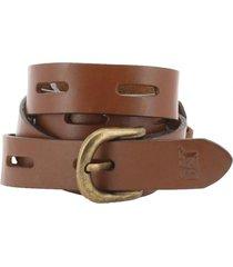 cinturón cuero mujer keva belt camel cat