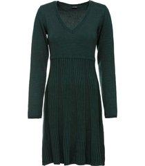 abito in maglia (verde) - bodyflirt