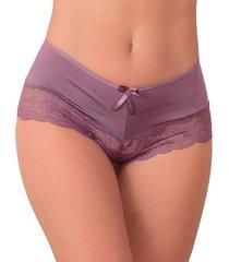 424d85fe6 calcinha vip lingerie calesson em microfibra com renda - calmf029 nude