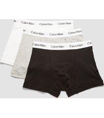 calvin klein 3p boxer brief zwart