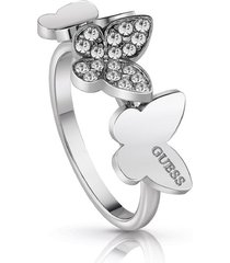 anillo guess love butterfly/ubr78003-56 - plateado