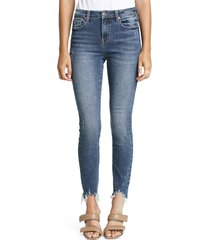 women's pistola audrey skinny jeans, size 24 - blue