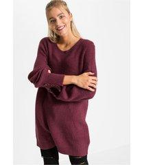 lange trui met knopen