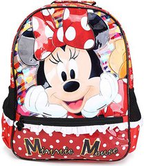 mochila escolar infantil disney xeryus 16 minnie its all about minnie feminino
