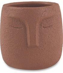 cachepot em cimento