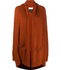 christian wijnants slouchy knitted cardigan - red