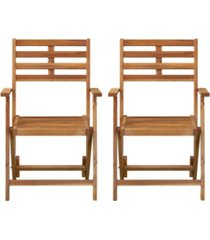 southern enterprises moabian outdoor armchairs 2 piece set