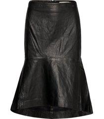 maaritiw skirt knälång kjol svart inwear