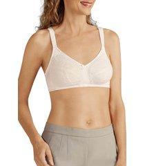 women's amoena ina soft cup bra, size 34dd - ivory