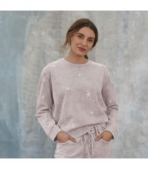 marbled star sweatshirt