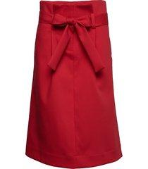 endless knälång kjol röd libertine-libertine