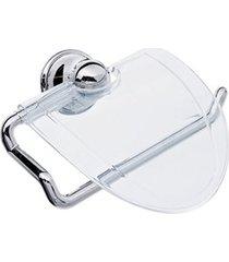 porta papel higiênico mondo cristal