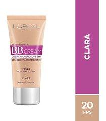 bb cream l'oréal paris dermo expertise base clara, 30ml