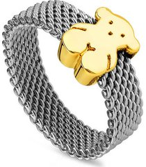 anillo sweet dolls plateado tous 915900742 - superbrands
