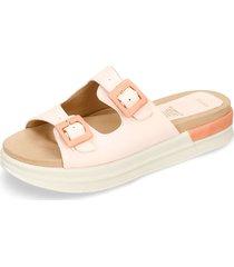 sandalias de plataforma palo de rosa bata yenny r mujer